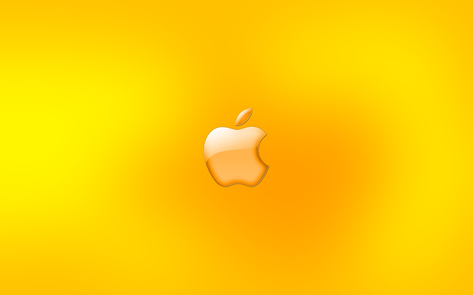 Wallpaper computer macs | yellow apple | ART TWO