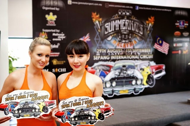 SummerNats Malaysia 2014 First Australia Largest Automotive Event in Asia