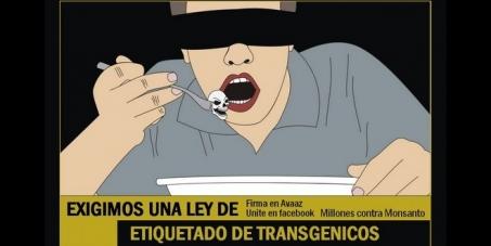 Exigimos una Ley de etiquetado de Transgénicos