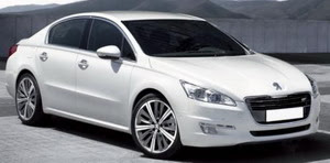 New Peugeot 508 Pictures