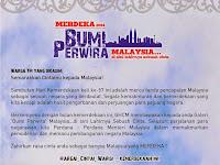 TM Merdeka 2014 - BUMI PERWIRA Malaysia...Di Sini Lahirnya Sebuah Cinta