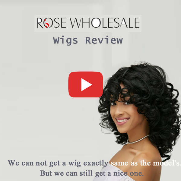 Rosewholesale Wigs Review
