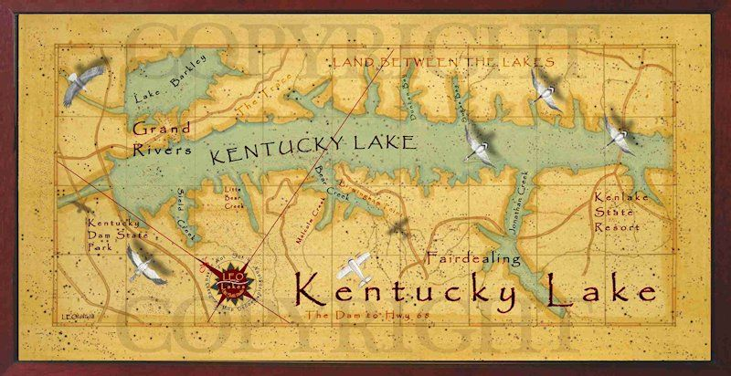Leo Lakes Beautiful Kentucky Lake