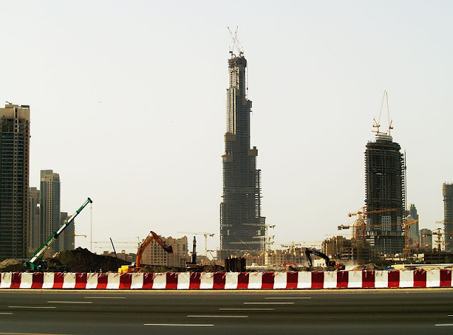 Burj Dubai Construction 21st March 2007