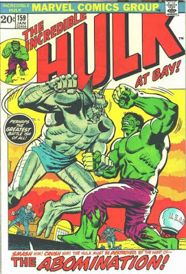 Incredible Hulk #159, the Abomination is back