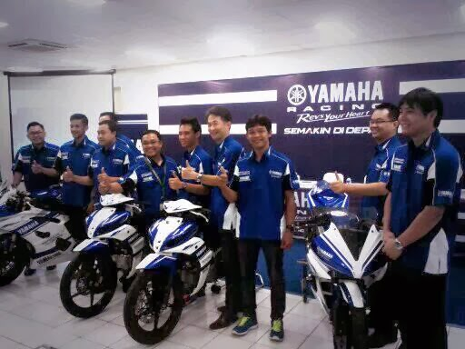 Yamaha Launching Tim Balap dan Paparkan Target