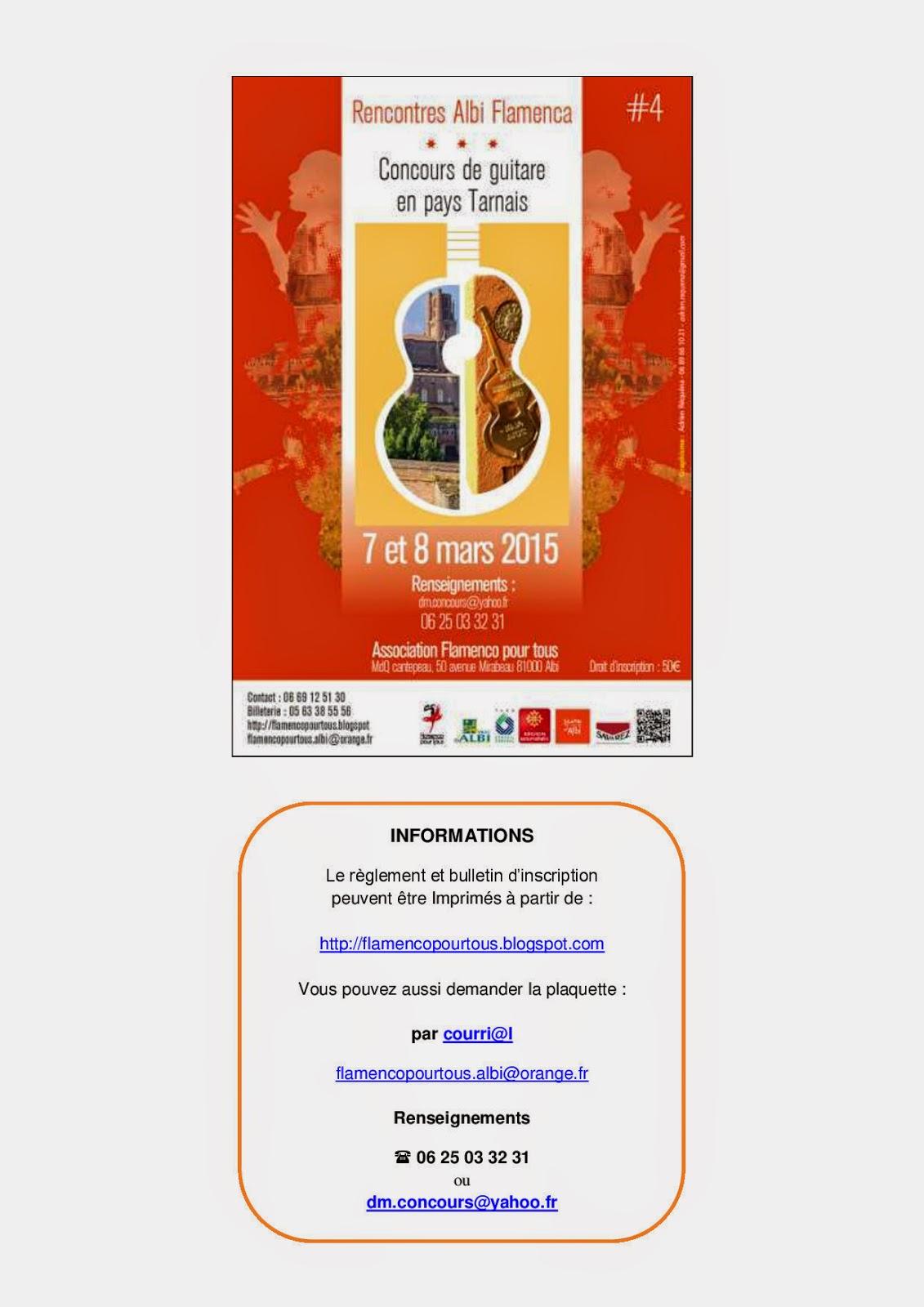 rencontres albi flamenca 2014 lloydminster