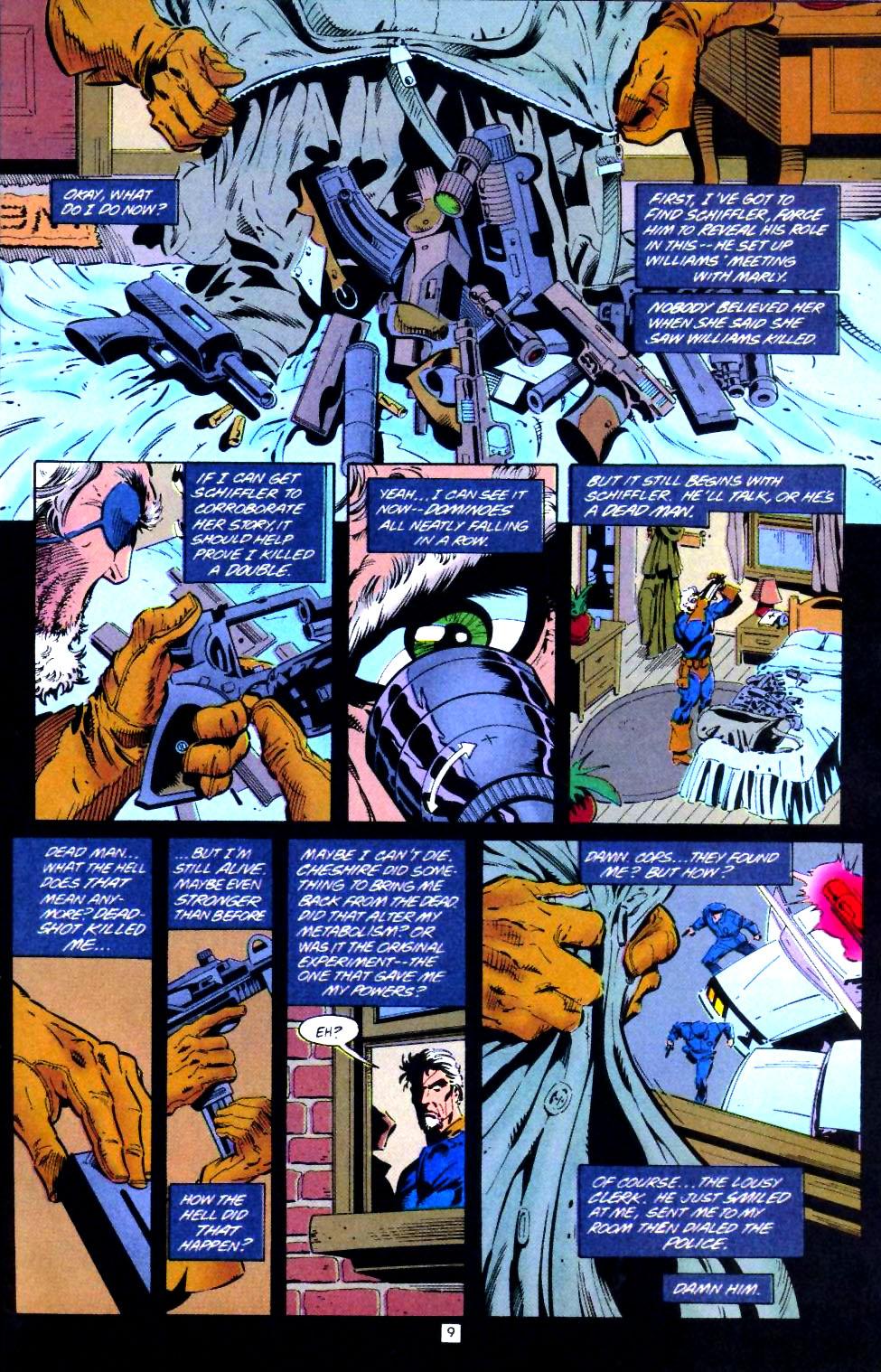 Deathstroke (1991) Issue #43 #48 - English 10
