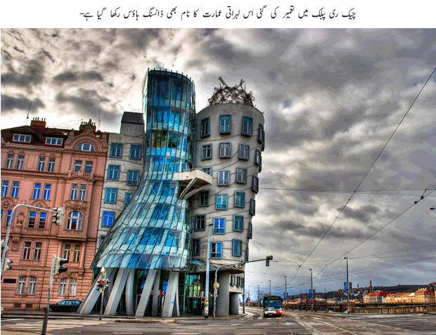 Famous building pictures all over the world with urdu for Famous building names