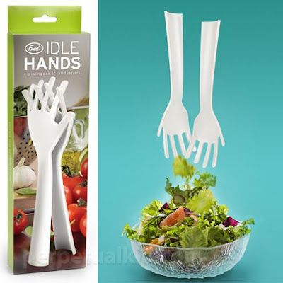 Best Gadgets For Salad Preparation - Idle Hands Salad Servers