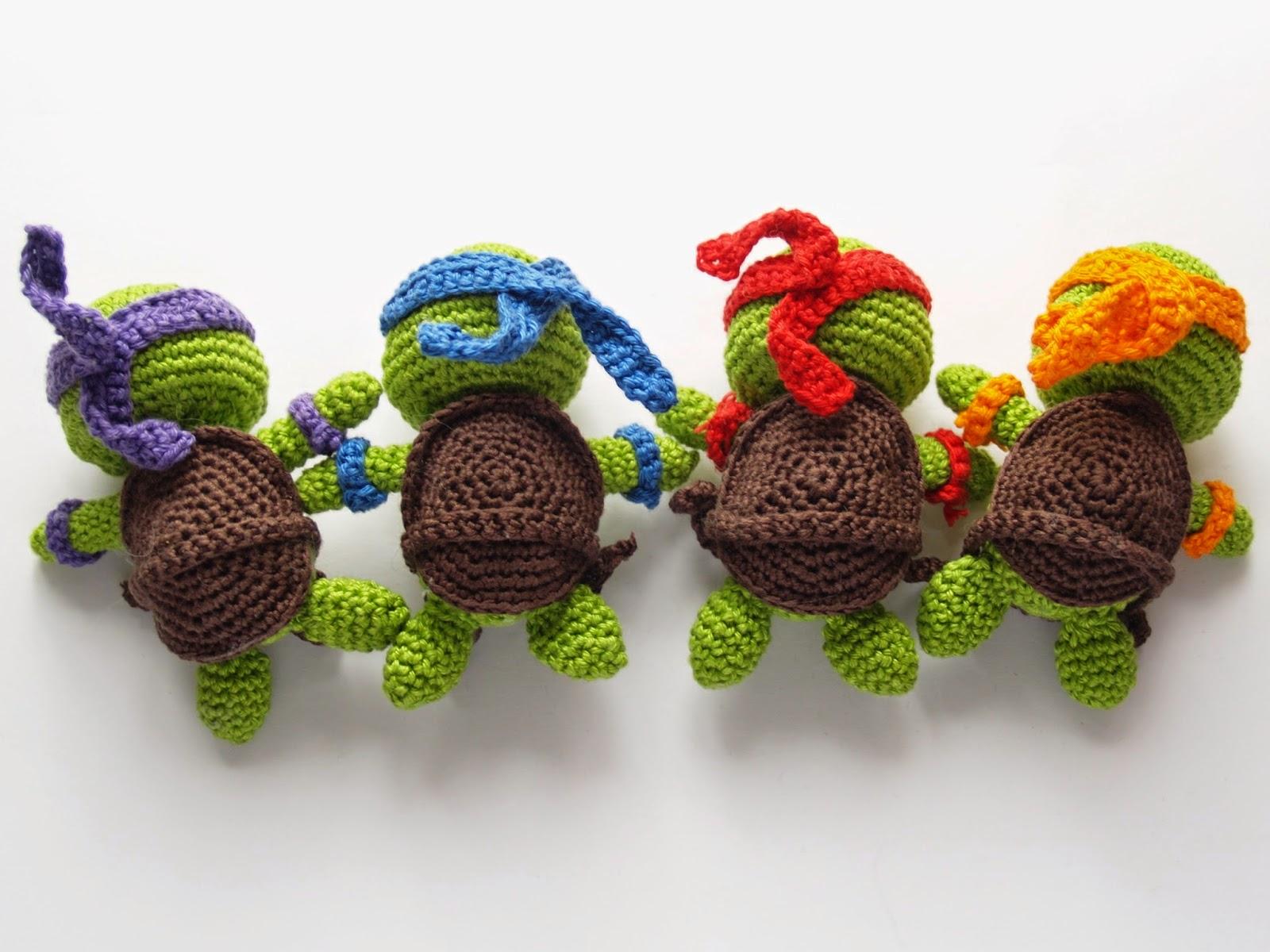 Willst mi\' häkeln?: Amigurumi Turtles