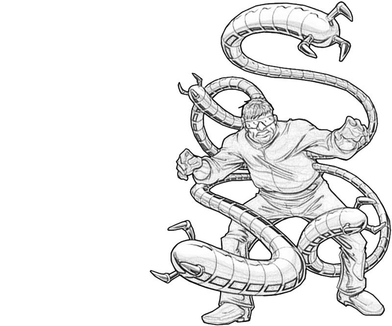 Doctor Octopus Coloring Pages Coloring Pages Doctor Octopus Coloring Pages
