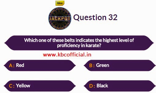 Ghar Baithe Jeeto Jackpot Question No 32 - Episode no 27 Dated 1st October
