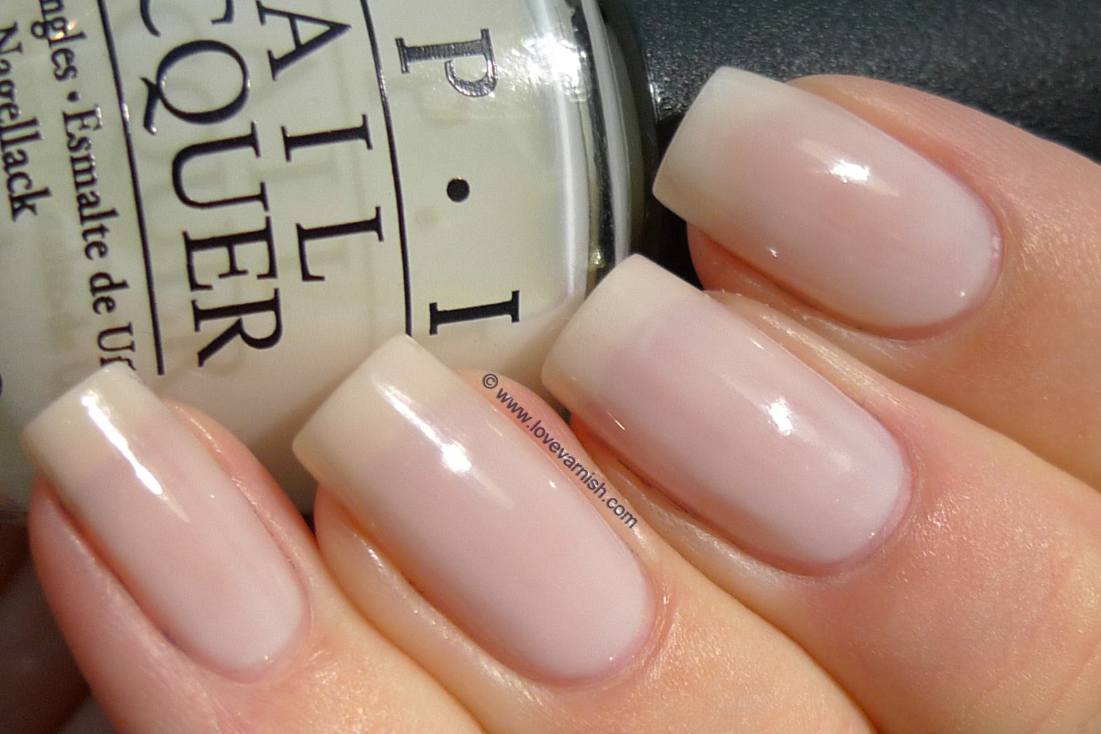 Love Varnish: OPI Don\'t Touch My Tutu!