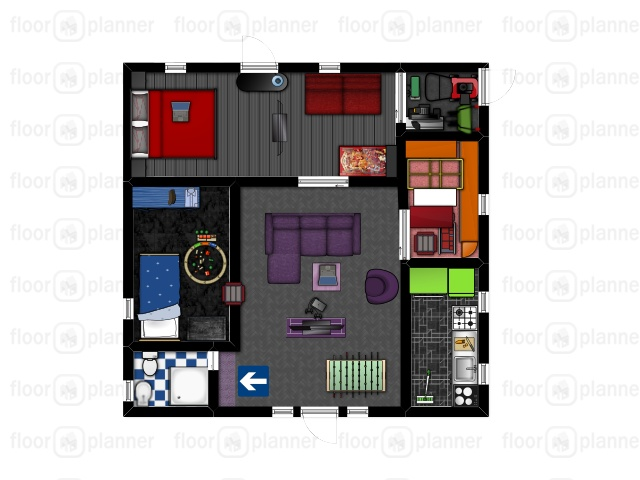 how to make a new project on floorplanner