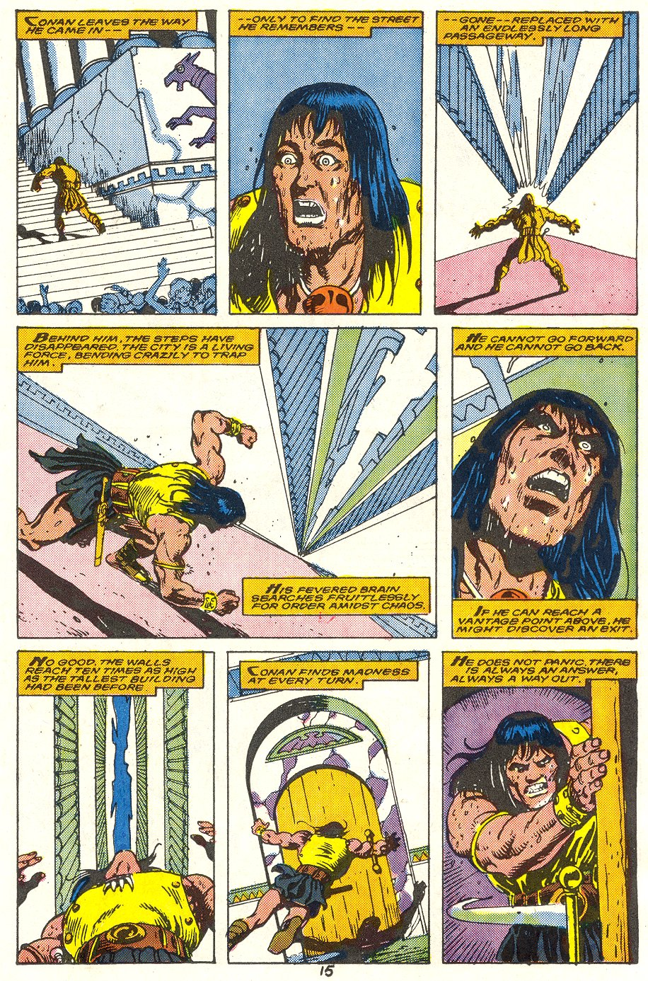 Conan the Barbarian (1970) Issue #214 #226 - English 12