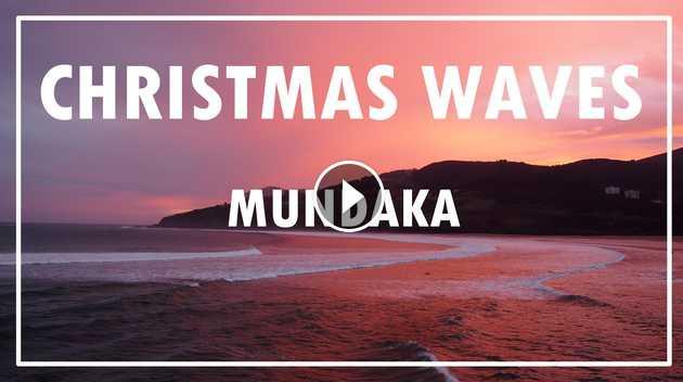 Mundaka - Christmas waves