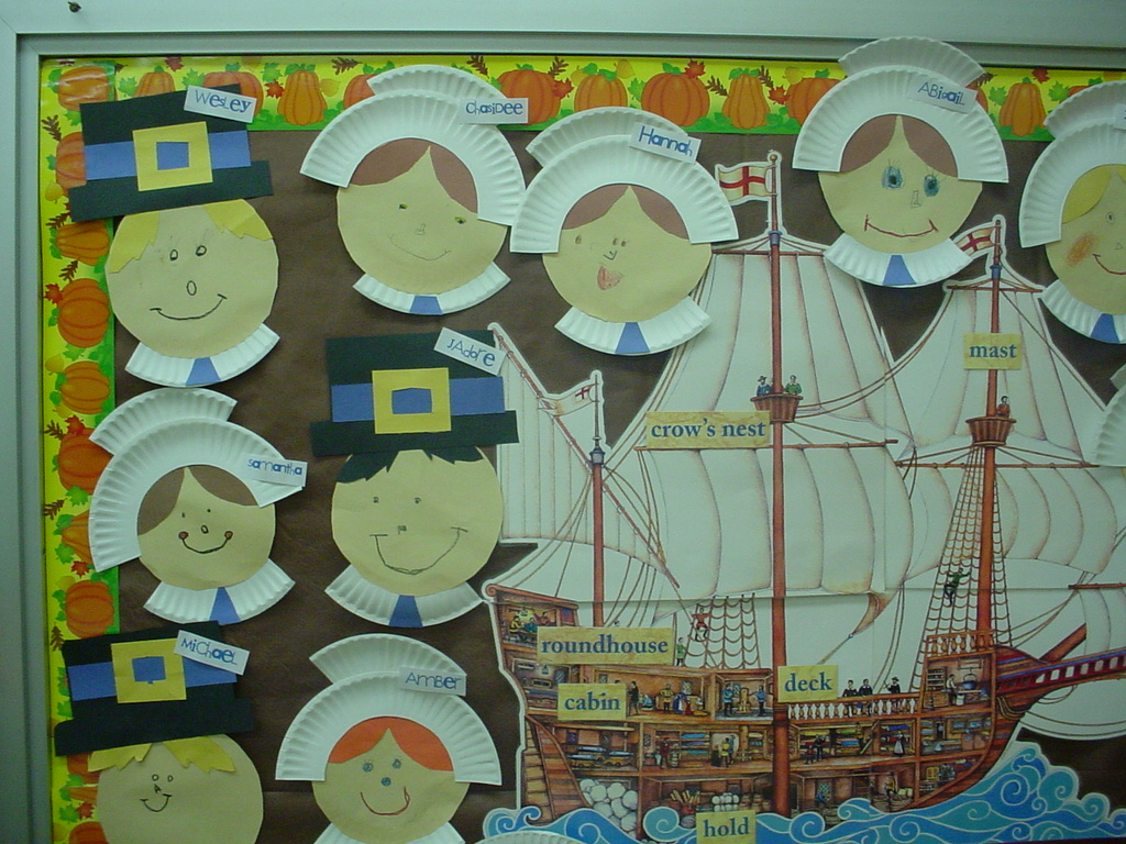 Diary of a first grade teacher paperplate pilgrims