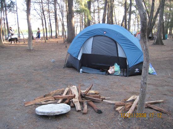 Que significa soñar con acampar