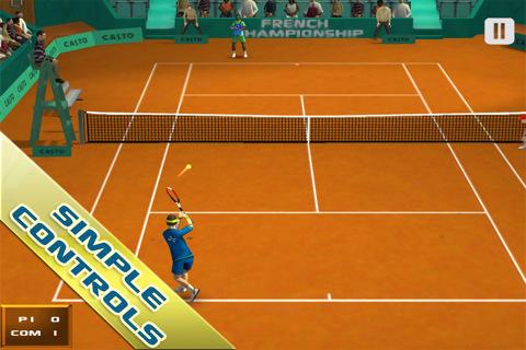 Cross Court Tennis 3D Armv6 On HVGA(320x480) and QVGA (240x320) All