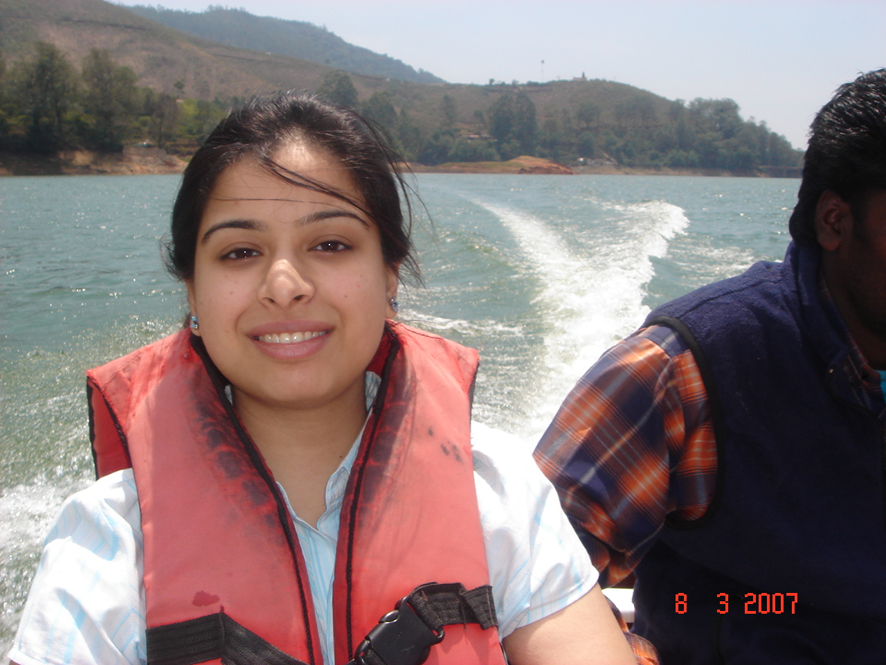 Boat ride at Munnar lake