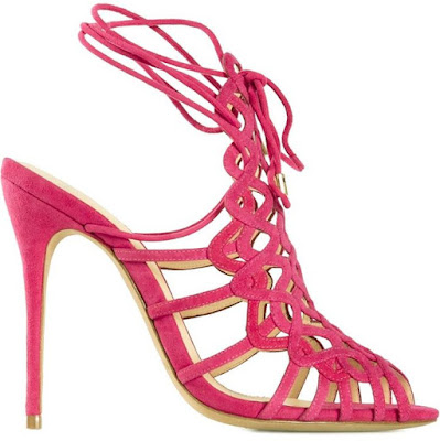Alexandre Birman pink high heeled sandals