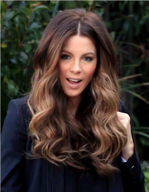 Kate Beckinsale Long Hair Styles 2013