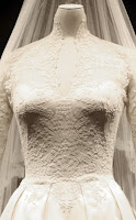 A Royal Wedding Dress On Display