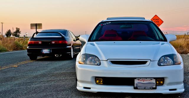Honda Integra III DC2 & Honda Civic VI