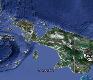 Peta Pulau Irian