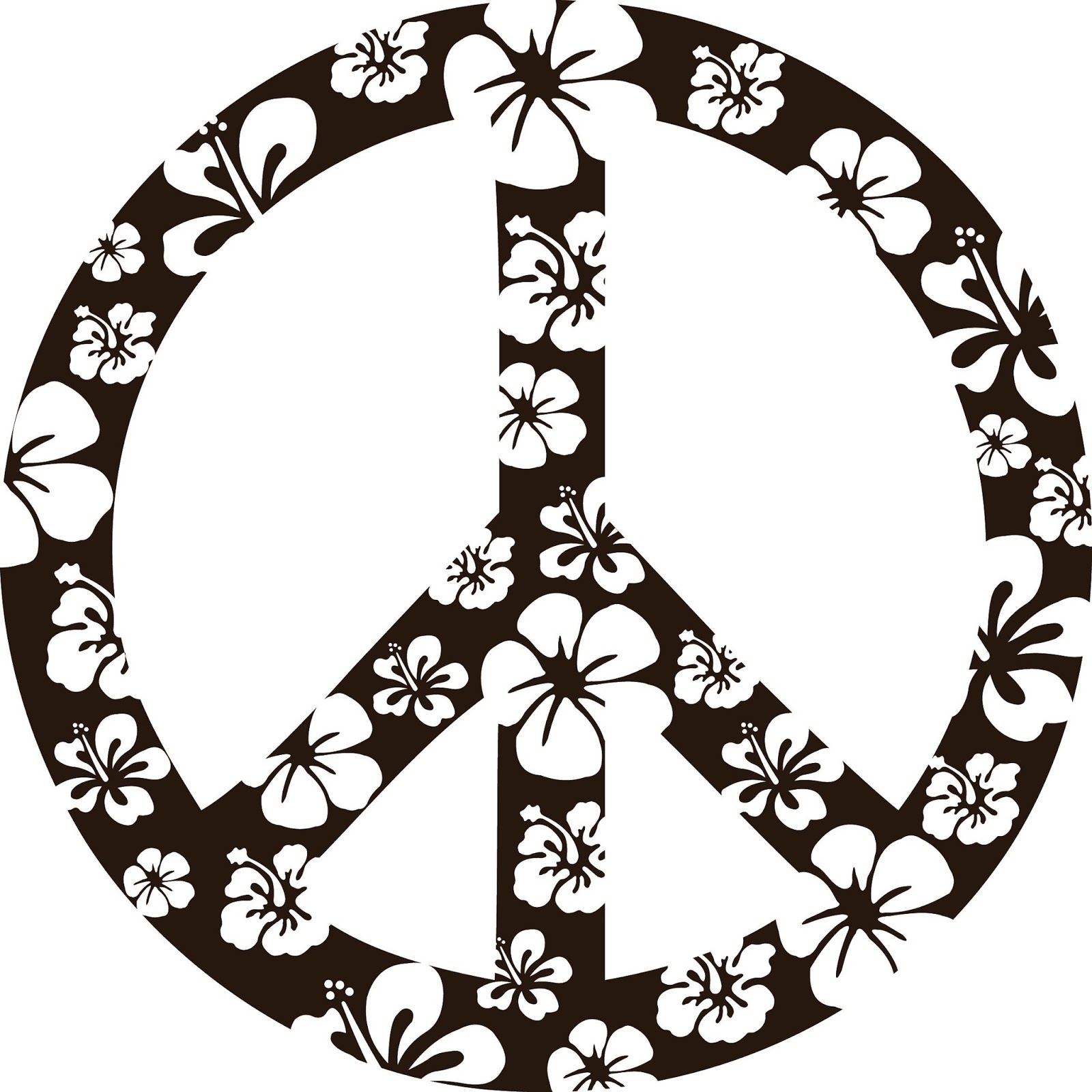 Coloring Pages Printables Peace