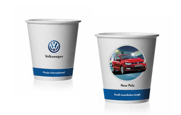 volkswagen paper cups