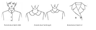 Variasi Garis Kerah Pada Baju / Collar