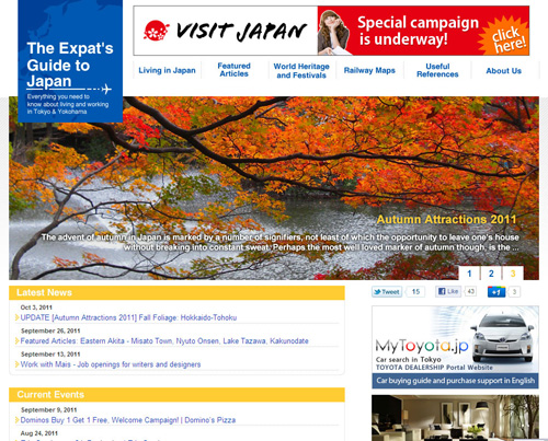Expat Guide to Japan
