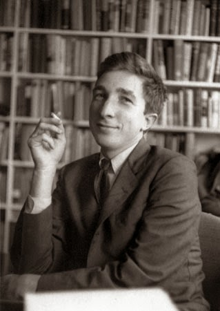John Updike smoking