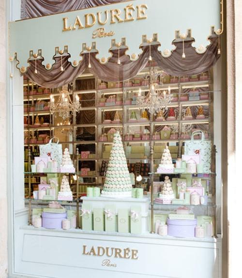 Dep sito santa mariah ideia de decora o para lojas for Laduree christmas
