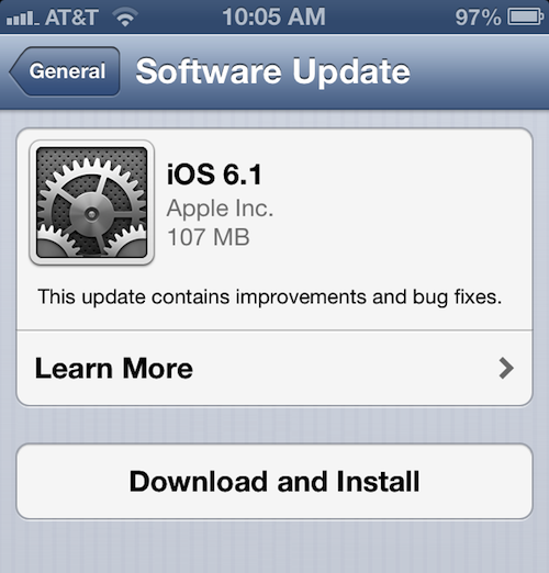 can you update iphone 3gs software