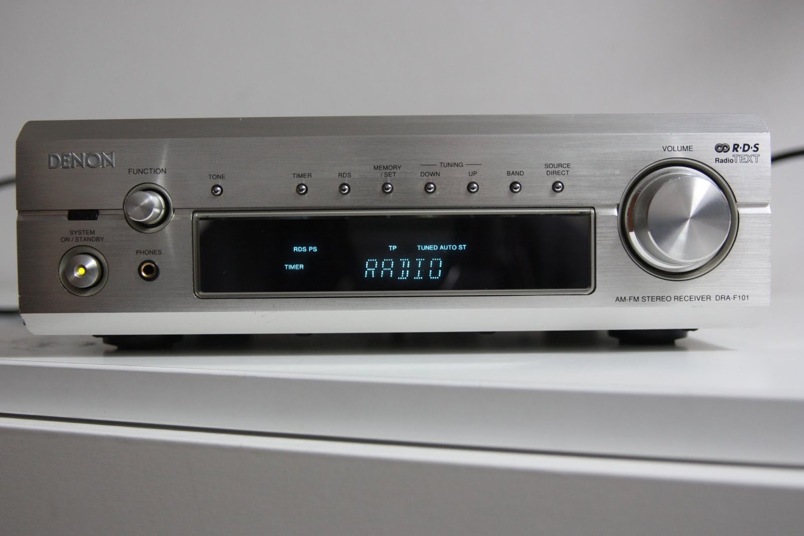 Denon dra f101 stereo receiver audiobaza for What to dra