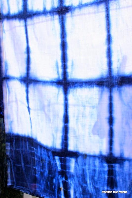 Shibori, photos Atelier rue verte