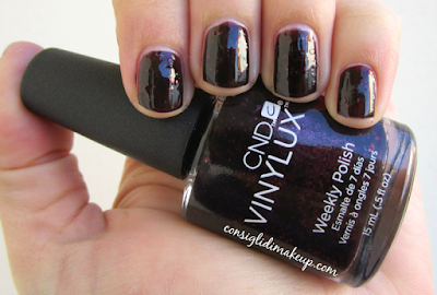 smalto poison plum cnd vinylux