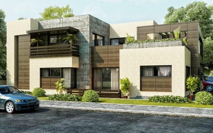 model atap rumah minimalis modern masa kini