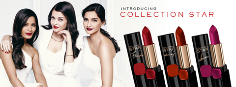 Loreal Paris Collection Star Red Lipsticks