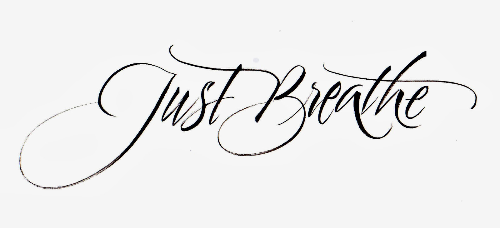 Just Breathe Tatoo - Images for Tatouage