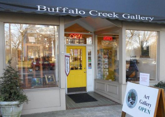 And at Buffalo Creek Gallery