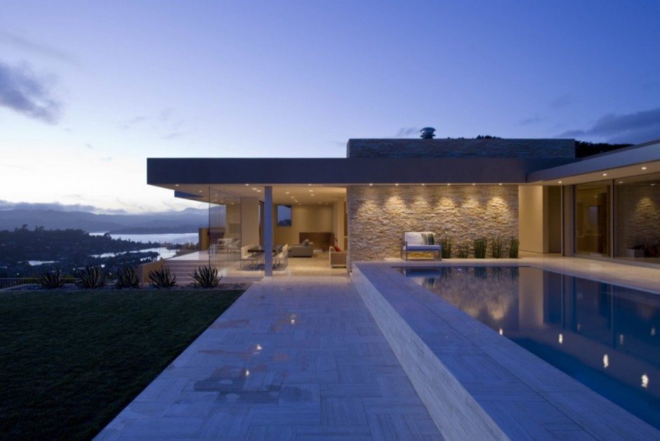 Amazing Home Contemporary Architecture In Tiburon
