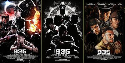 Tre poster per 935: A Nazi Zombie Series
