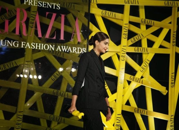 Sonam Kapoor at Grazia Young Fashion Awards