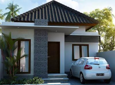 Poto rumah minimalis 1 lantai