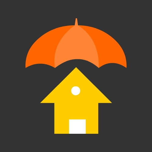 Home Insurance Icon or House Insurance Icon | Vector Icons Download