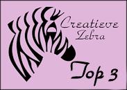 1e bij de Creatieve Zebra